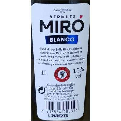 Vermut Miro - Blanco -