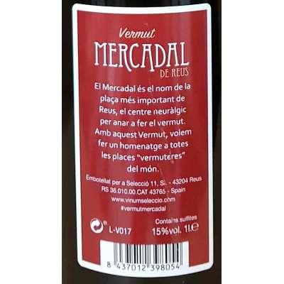 Vermut Mercadal - Rojo -