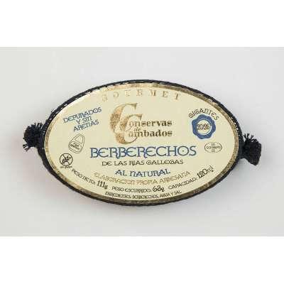 Berberechos de las Rías Gallegas al Natural 20/25 - Gourmet -