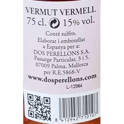 Vermut 2 Perellons - Rojo -