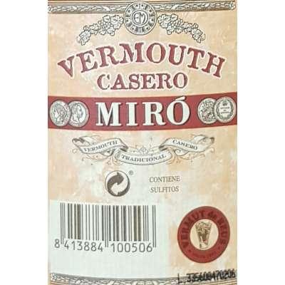 Vermut Miro Casero - Negro -