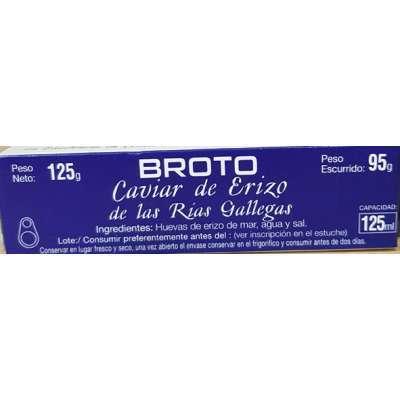 Caviar de Erizo de las Rias Gallegas - Broto -