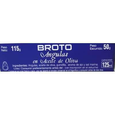 Angulas en Aceite de Oliva - Broto -