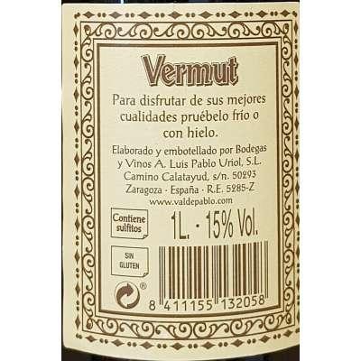 Vermut  Valdepablo - Rojo -